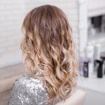 włosy ombre blond